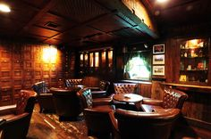 """Future """"additional"""" man cave will include a Port and/or really old Scotch & Montecristo and/or Cohiba Cigar room."""
