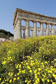 Templo de Segesta Sicilia Italia