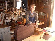Daniel Friederich dans son atelier