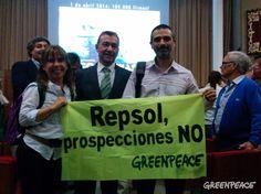 """Greenpeace exige la anulación del expediente """"deficiente"""" de Repsol sobre prospecciones en Canarias"""