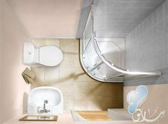 mini bathroom - Buscar con Google
