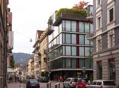 Apartments on Bäckerstrasse - Theo Hotz Partner modern exterior