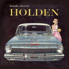 Holden Australias Own Car Blue