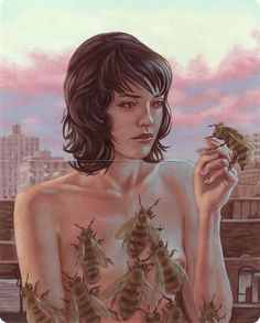 "Casey Weldon - from ""The Moleskin Project"" @ Spoke Art - via Juxtapoz"