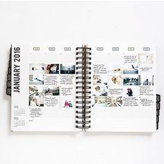 @stephaniebryan created a little photo journal for the month of January in her #gettoworkbook and I'm blown away.