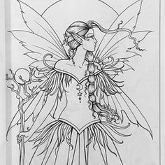 fairies and pixies coloring pages - photo#29