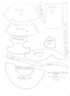 Moldes de Amanda: FOFUCHAS Y MOLDES (de la web)