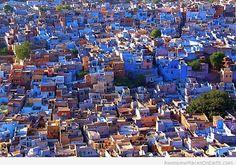 Blue City Jodhpur in India