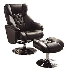 Homelegance 8548BLK-1 Swivel Reclining Chair with Ottoman, Black Bonded Leather Match Homelegance http://www.amazon.com/dp/B00LINYZY0/ref=cm_sw_r_pi_dp_p8uVvb1V8X753
