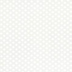 Michael Miller House Designer - Dots - Kiss Dot in Snow