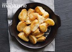The secret to crispy roast potatoes? A spell in the freezer. Visit Homemade for more recipes