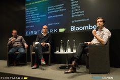 Matt Turck with Mark Josephson and Rob Platzer of Bitly