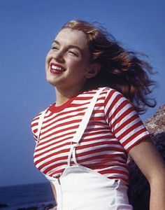 Norma Jeane 17! At first glance I thought this was my mother as a teenager! :)
