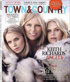 Patti Hansen and her two beautiful daughters
