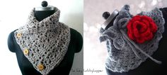 The Lazy Hobbyhopper: Neckwarmer/cowl, patterns available on Ravelry