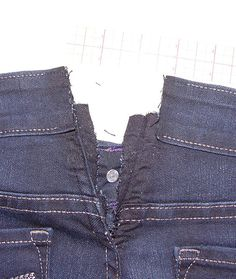 Expanding jeans too tight in the waist since to fit everywhere else they are always tight in the waist