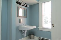 This renovated bathroom on the first floor is now fully accessible. #BrownleeHouse