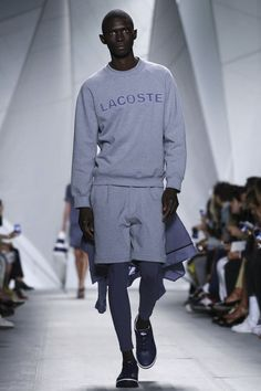 A look from the Lacoste Spring 2015 RTW collection.
