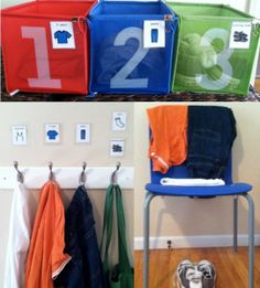 Sensory Organizing - Dressing Stations