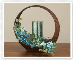 This beautiful centerpiece can be put together with a few items from www.signaturehomestyles.biz/klehman