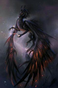 Beautiful dragon art