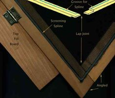 Making frame for screens - Woodworking Talk - Woodworkers Forum
