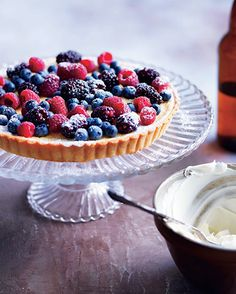 Berry and mascarpone tart (Torta di frutti di bosco e mascarpone)