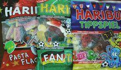 HARIBO TIPPSPIEL ; HARIBO PASTA FLAGGA ; HARIBO FANTASIA