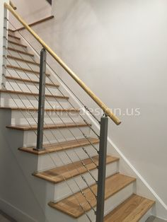 Preview_stainless_steel_cable_railing_indoor. Stainless Steel Cable  RailingRailingsBanistersStair ...