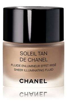 add this under any foundation to make your skin GLOW... CHANEL SOLEIL TAN DE CHANEL SHEER ILLUMINATING FLUID