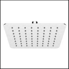Minimalistisk brusehoved Piano Quadrato 20 Power Strip, Design