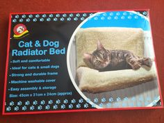 Maries Special Little Boy: Cat Radiator Bed