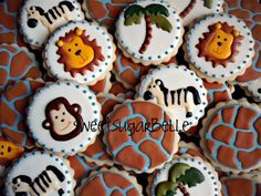 Jungle Cookies!!  I may be making these sooner than later.  Time to find some solid inspiration!