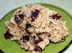 Ugly Cherry Oatmeal No Bake Cookies Recipe | Just A Pinch Recipes