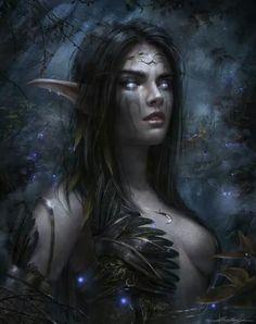 """Night Elf""  By: dropdeadcoheed.deviantart"