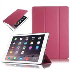 iPad Mini 1/2/3 Smart Leather magnetic fill case iPad Mini 1/2/3 Smart Leather Case  Standing Smart Flip leather Case with auto sleep/wake feature. Brand new Front and back cover for iPad mini 1&2&3 $16 Accessories