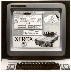 The birthplace of graphical user interfaces: The Xerox Star 8010 in 1981 (high quality polaroids scans)