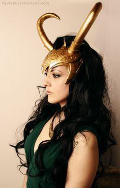 Lady Loki interesting helm