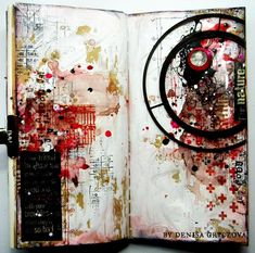 art journaling by Gryczova