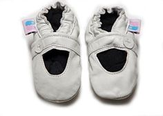 Beautiful Soles soft soled pre-walkers are the perfect 1st shoe, the best thing for your little one to learn to crawl, balance and take those first steps in.  Beautiful Soles® Soft Sole shoes are designed to protect and nurture little feet and are crafted from 100% quality leather with a soft suede sole for added grip.  All Beautiful Soles are durable, hand washable and have soft elastic tops for a snug fit.