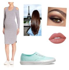 """""""Sam party"""" by kyleejones3632 ❤ liked on Polyvore featuring Monrow, Vans and Lime Crime"""