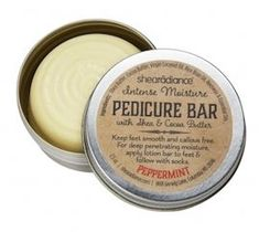 solid pedicure bar in metal tin