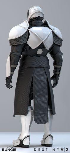"ArtStation - Destiny 2 IO ""Gensym Knight"" Titan Gear, Roderick Weise Destiny Cosplay, Cosplay Armor, Sith Costume, Mandalorian Costume, Armor Concept, Concept Art, Titans Gear, Destiny Bungie, Sci Fi Armor"