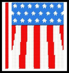 """~""""American Flag Notebook Cover""""~ Pg 1/2"""