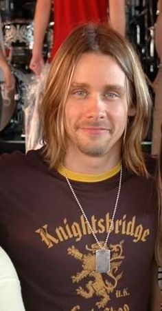 Myles Kennedy - played with Slash at the Hall of Fame Induction Award and stole my heart!! Super Hot, OMG!  I love you Miles!!!