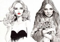 fashion illustration - Google Search