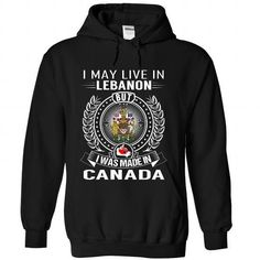unique Friend Tattoos - I May Live in Lebanon But I Was Made in Canada #city #tshirts #Lebanon #gift #id...