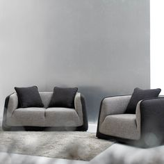 The perfect couch! So modern and so sleek I love it