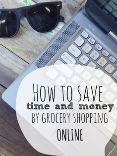 Grocery shopping used to be one of my least favourite weekend jobs and now it takes me less than 20 minutes a week!! Click through to see all my tips for grocery shopping online | The Little Design Corner