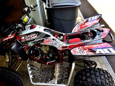 Yfz 450 custom graphic kit